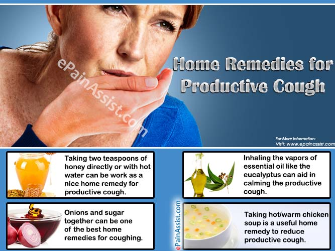 Home remedy for productive cough in adults