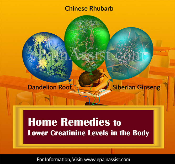 Home Remedies to Lower Creatinine Levels in the Body