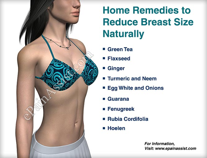 Home Remedies to Reduce Breast Size Naturally