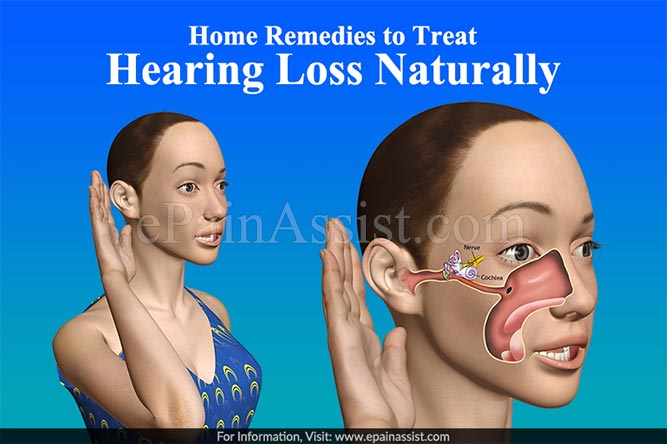 Home Remedies to Treat Hearing Loss Naturally