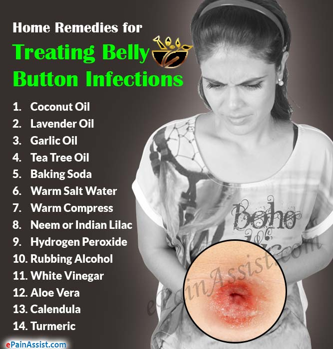 Home Remedies for Treating Belly Button Infections