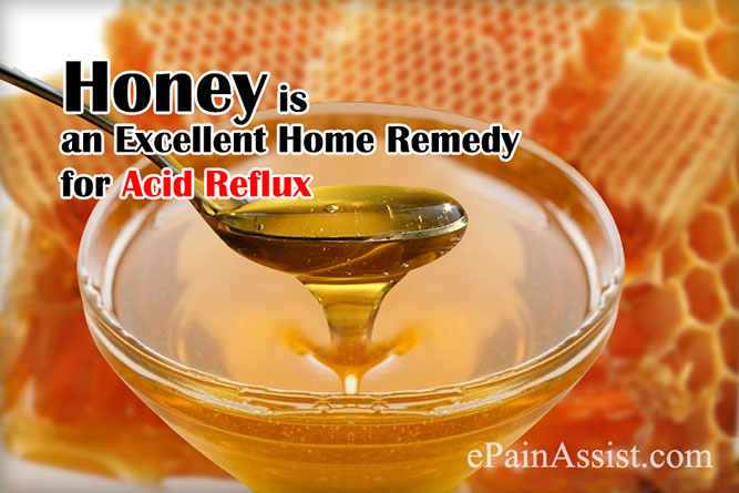 Honey is an Excellent Home Remedy for Acid Reflux