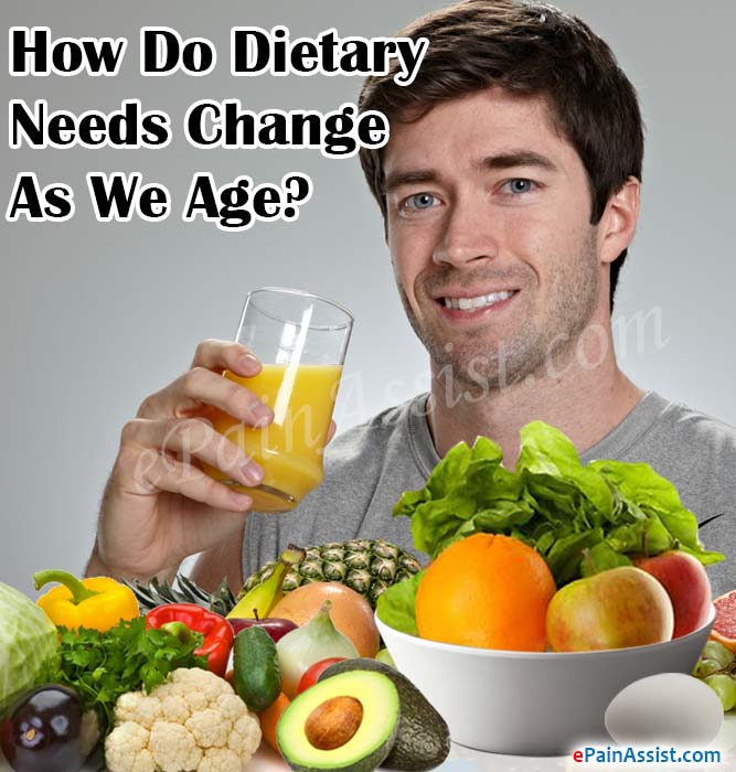 How Do Dietary Needs Change As We Age?