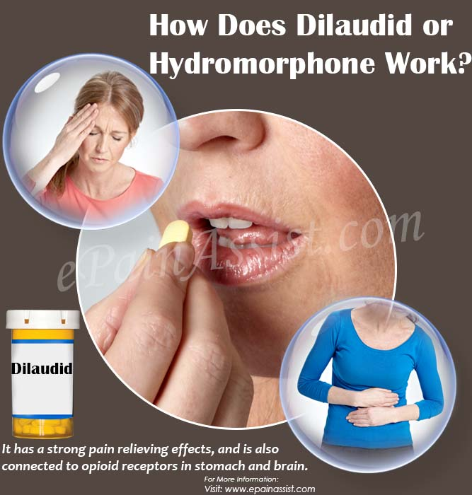 How Does Dilaudid or Hydromorphone Work?