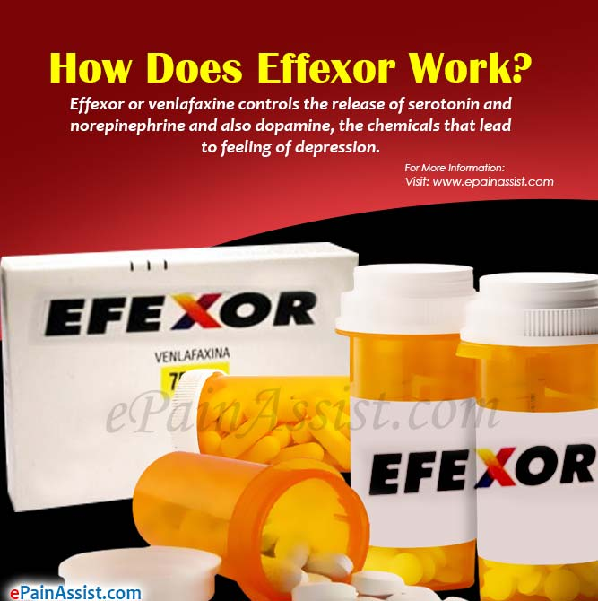 How Does Effexor Work?