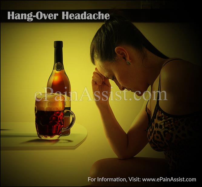 Hang-Over Headache or Alcohol Induced Headache