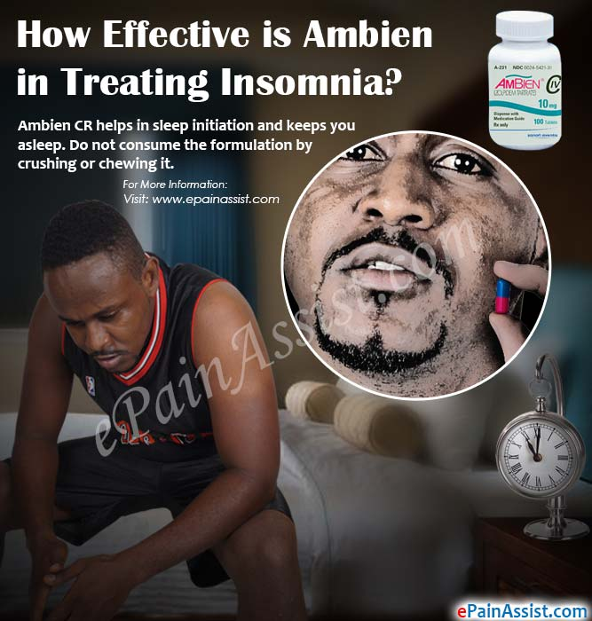 How Effective is Ambien in Treating Insomnia?