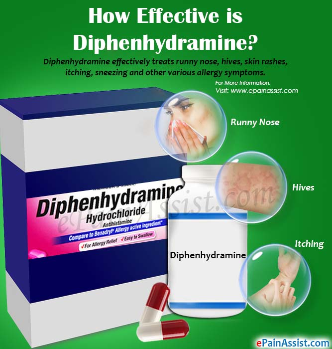 How Effective is Diphenhydramine?