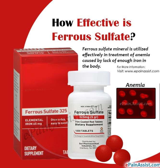 How Effective is Ferrous Sulfate?