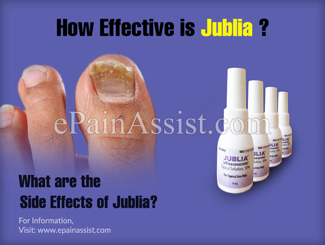 How Effective is Jublia?