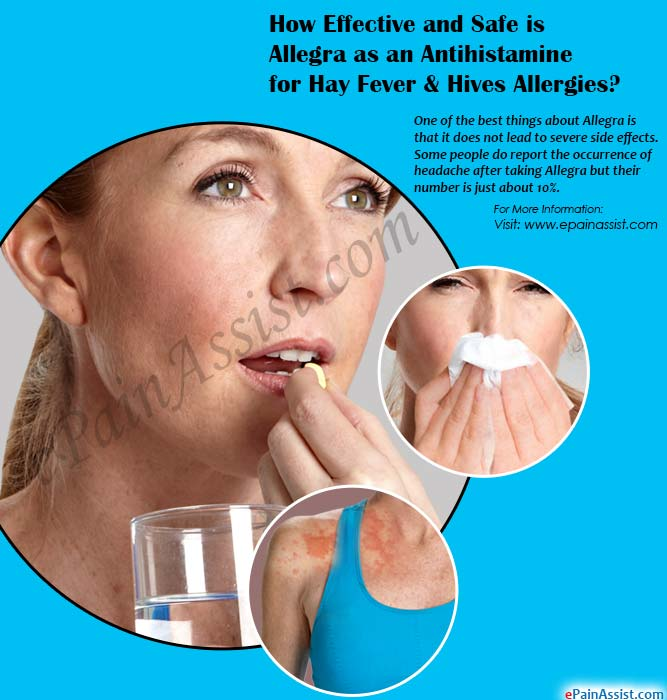 How Effective and Safe is Allegra as an Antihistamine for Hay Fever & Hives Allergies?