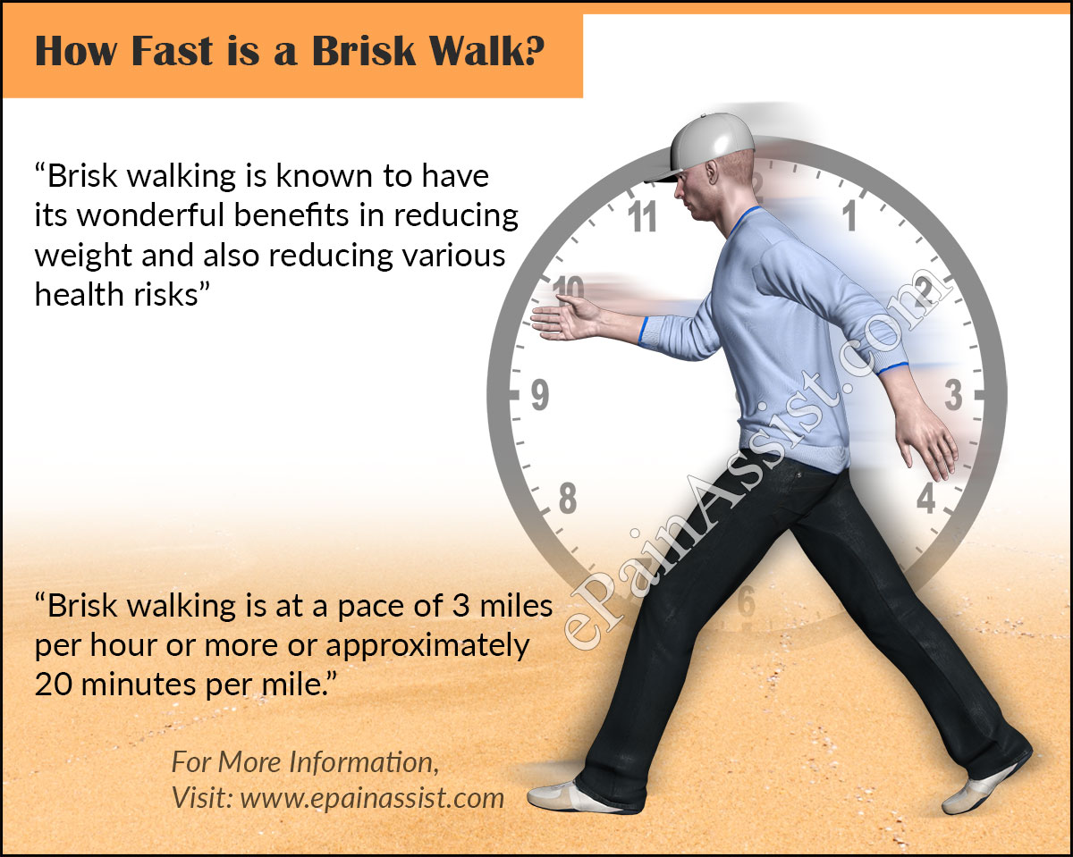 How Fast is a Brisk Walk & What are its Benefits?