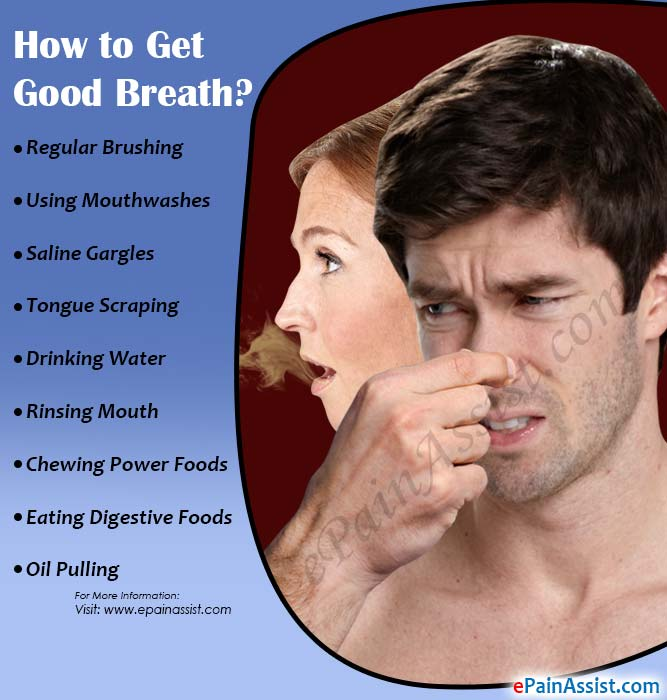 How to Get Good Breath?