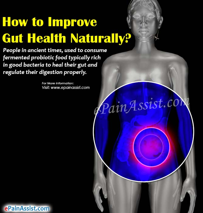 How to Improve Gut Health Naturally?