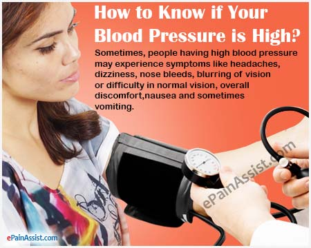 How to Know if Your Blood Pressure is High?