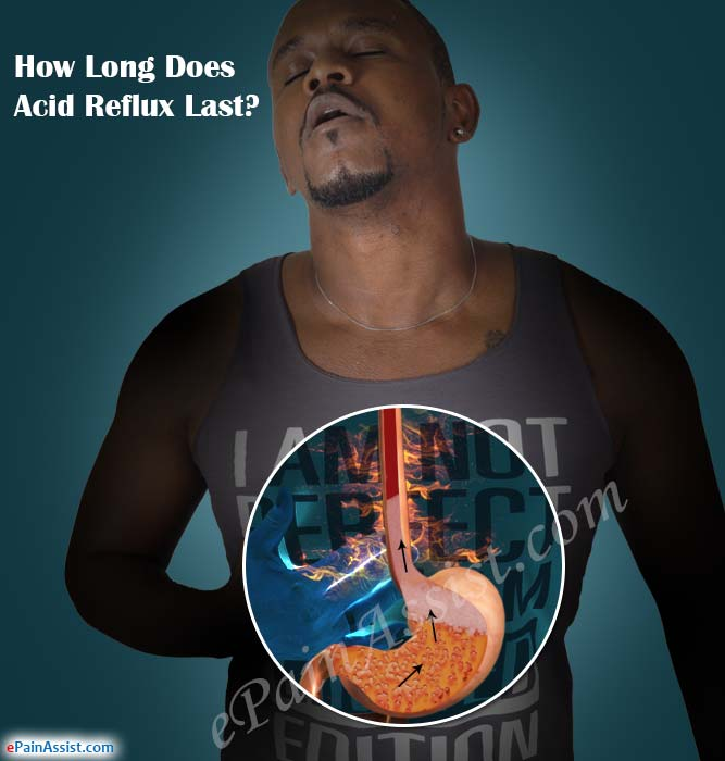 How Long Does Acid Reflux Last?