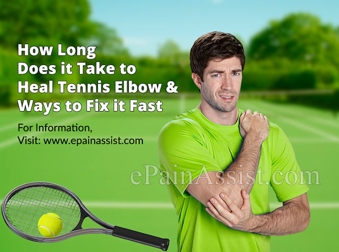 How Long Does it Take to Heal Tennis Elbow?