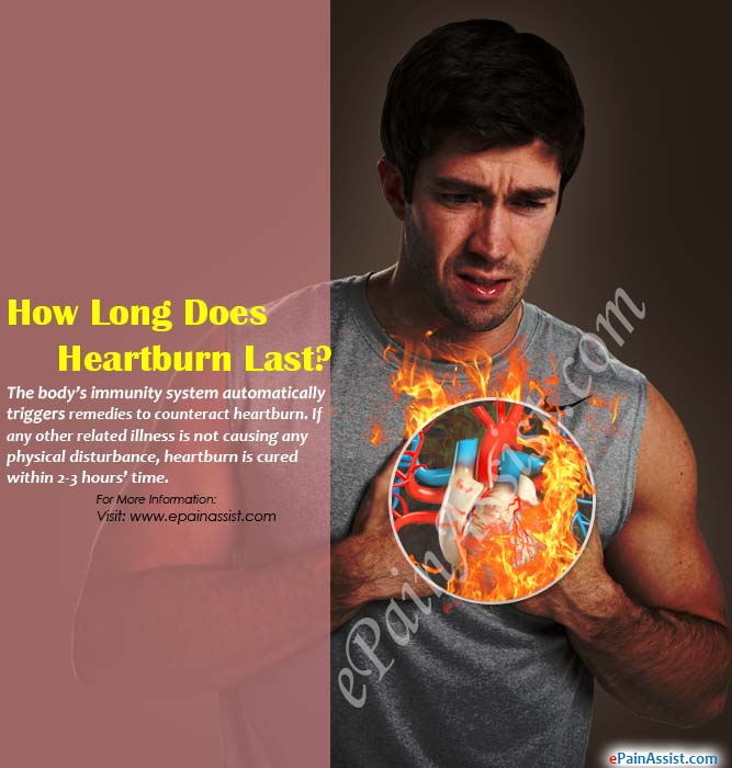 How Long Does Heartburn Last?