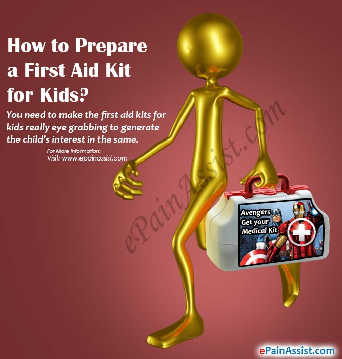 How to Prepare a First Aid Kit for Kids