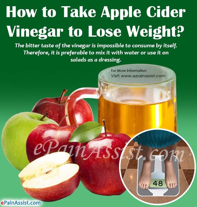 How to Take Apple Cider Vinegar to Lose Weight?