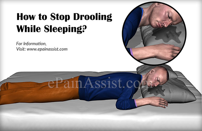 How to Stop Drooling While Sleeping?