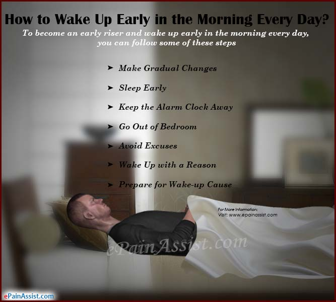 How to Wake Up Early in the Morning Every Day?