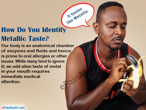 How Do You Identify Metallic Taste?