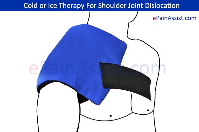 Cold or Ice Therapy For Shoulder Joint Dislocation