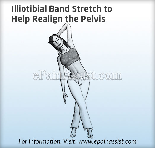 Illiotibial Band Stretch to Help Realign the Pelvis