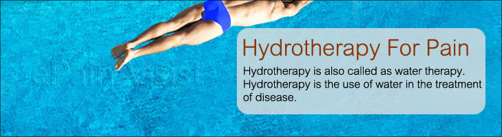 Hydrotherapy For Pain