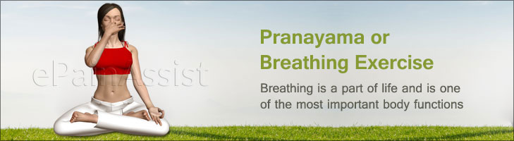 Pranayama Or Breathing Exercise