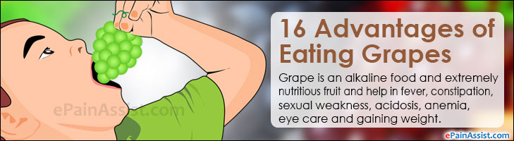 16 Advantages of Eating Grapes
