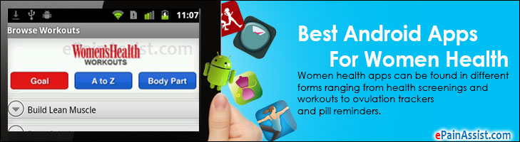 Best Android Apps For Women Health
