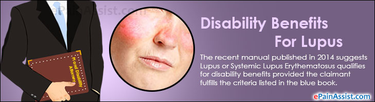Disability Benefits For Lupus Or Systemic Lupus Erythematosus