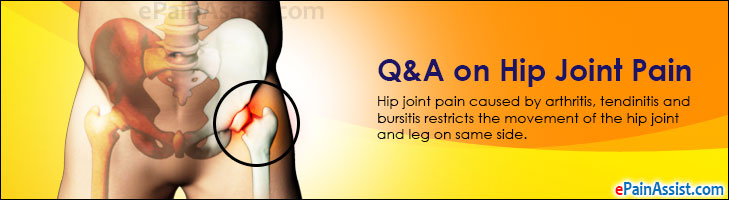 Q&A on Hip Joint Pain