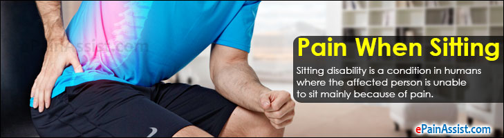 Pain When Sitting