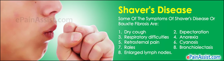 Shaver's Disease or Bauxite Fibrosis