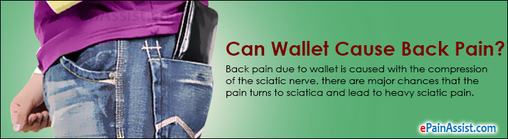 Wallet Cause Back Pain