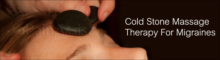 Cold Stone Massage Therapy for Migraines