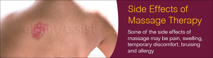 Side Effects of Massage Therapy