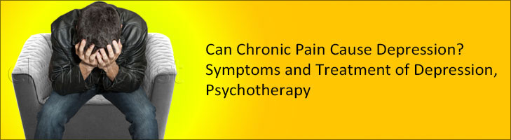 Can Chronic Pain Cause Depression? Symptoms and Treatment of Depression, Psychotherapy