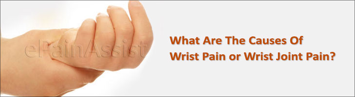 Major Medical Conditions that Cause Wrist Pain.