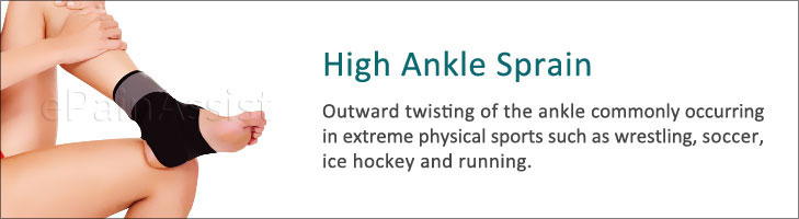High Ankle Sprain or Syndesmotic Ankle Sprain
