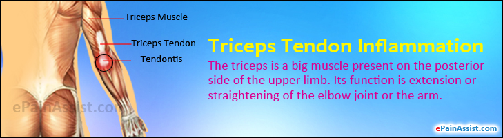 Triceps Tendon Inflammation