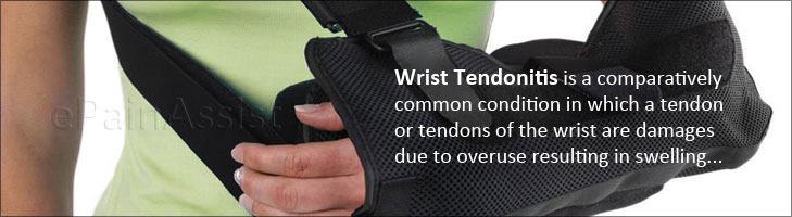 Tendonitis Wrist or Wrist Tendinitis