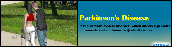 parkinson s disease causes symptoms and treatment Parkinson's disease occurs as result of gradual degeneration and death of certain neurons or nerve cells symptoms are produced because of lack of production of dopamine, which is a chemical messenger in the brain.