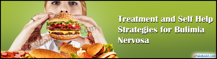 Treatment and Self Help Strategies for Bulimia Nervosa