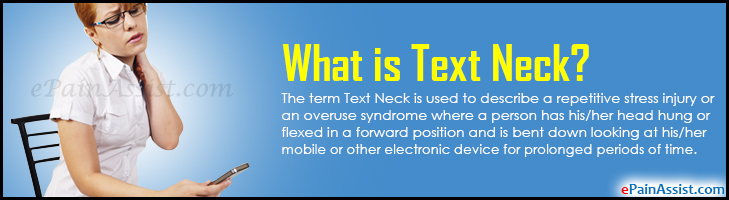 What is Text Neck