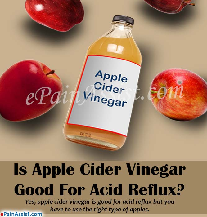 Is Apple Cider Vinegar Good For Acid Reflux?