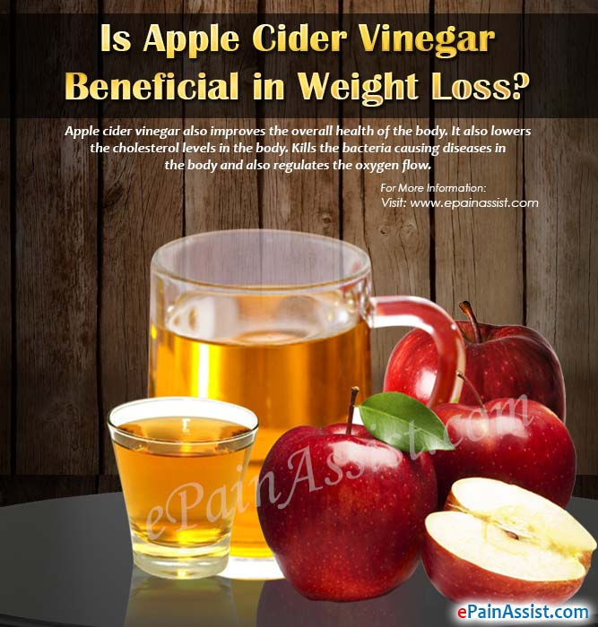 Is Apple Cider Vinegar Beneficial In Weight Loss